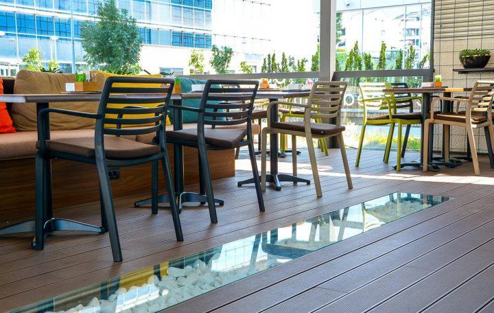 Podne obloge za terase WPC coffee